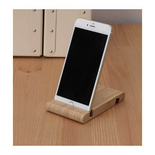 Mobili Porta Tv Design Ikea.1 X Universal Wooden Mobile Phone Desk Stand Holder Samsung Iphone Ikea