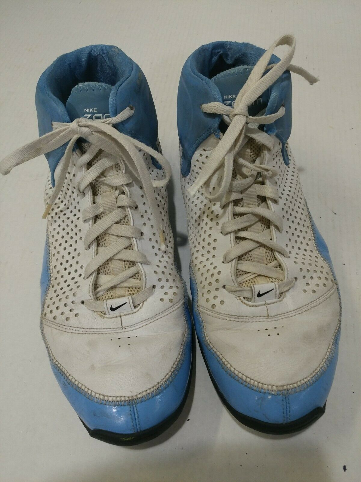 Nike zoom scarpe da basket 317993-101 uomini sz 13 13 13   Resistenza Forte Da Calore E Resistente  6c3791