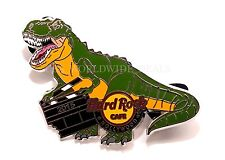 Hard Rock Cafe 2015 Hollywood CA Jurassic World T Rex Green Dinosaur Pin LE 300