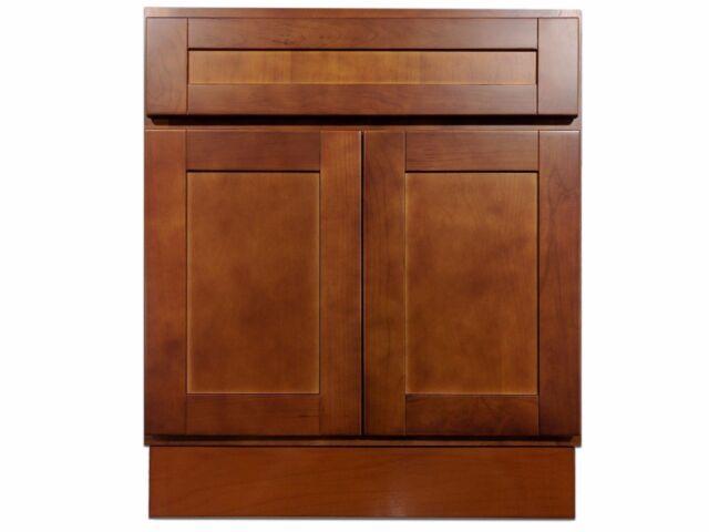 Decolav Haddington Cherry Bathroom Vanity 24 Inch 5645 For Sale Online Ebay