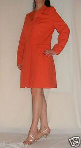 La Classy Thick 3 Taglia Redoute Jersey Primavera Tangerine Coat Donna 12 Bottoni 8ATfq