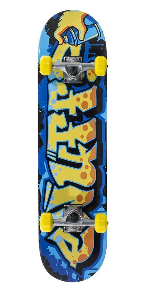 ENUFF Graffiti II Skateboard Complete gelb NEU 85193