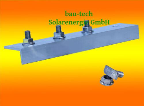 1 Pièce Profil Connecteur Aluminium pour Solaire Photovoltaïque PV Assemblage