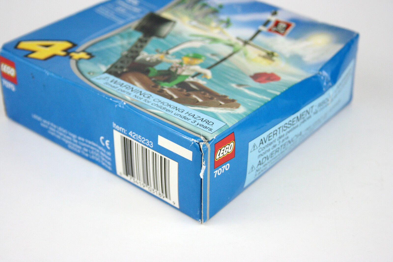 Lego 7070 Catapult Raft Raft Raft Pirate 23 pcs Building Toy 2004 - New Sealed 5d77cf