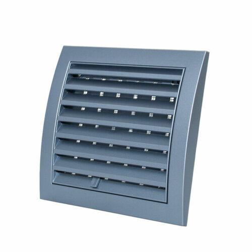 Air Vent Grille Avec Réglable Obturateur ouvrir et fermer Ventilation Cover Grille