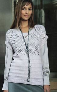 Fashionable Knitting Patterns : Knitting Pattern Womens Fashionable Scoop Neck Tunic Top