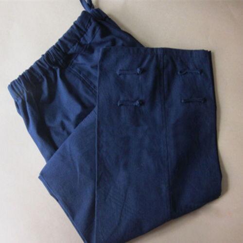 Men/'s Martial Arts Shaolin Bruce Lee Combat 100/% Cotton Casual Pants Fashion