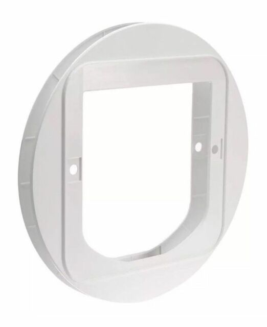 SureFlap Cat Flap Mounting Adaptor White - Suitable For Glass Doors, Walls etc.