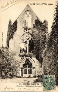 CPA KERITY-PAIMPOL - Ruines de l'Abbaye de Beauport (994758)