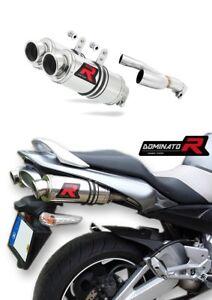 Scarico-Silenziatore-exhaust-DOMINATOR-TONDO-SUZUKI-GSR-600-06-11-DB-KILLER
