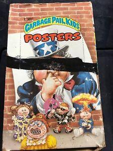 UNOPENED-1986-TOPPS-GARBAGE-PAIL-KIDS-POSTER-BOX-36-PACKS-GPK-12X17