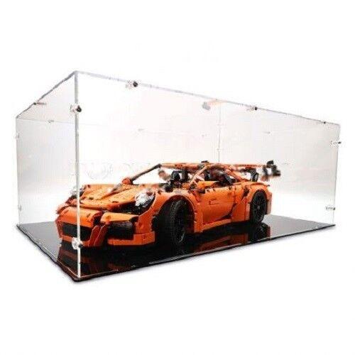 Acrílico vitrina para lego 42056 Porsche-nuevo
