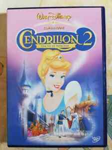 DVD-Film-dessin-anime-Cendrillon-2-Une-vie-de-princesse-Walt-Disney