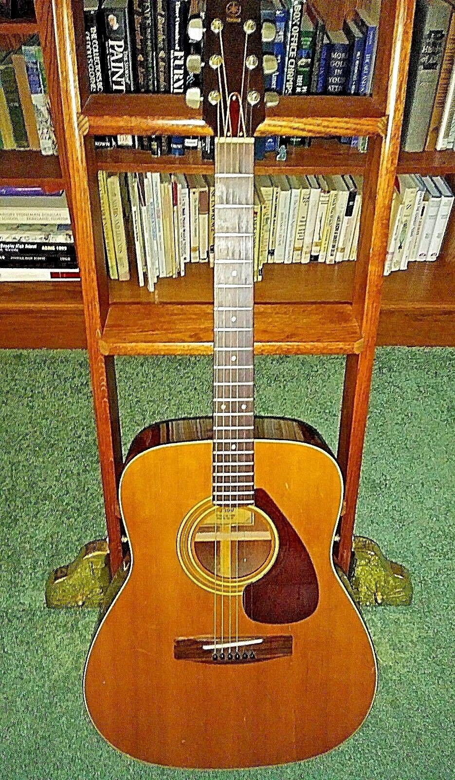 Guitarra acústica acústica acústica YAMAHA FG-160 BRONCEADO ETIQUETA Taiwán,  muy bonito  3ff112