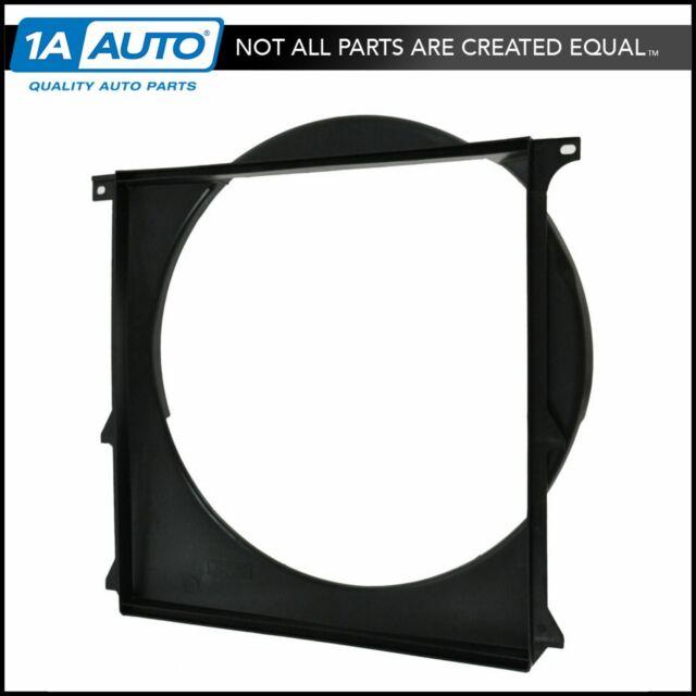 Auxiliary Radiator Plastic Fan Shroud For 92 Bmw 318i