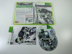 Tom Clancy's Splinter Cell Blacklist Xbox 360 Ubisoft 2013 Complete