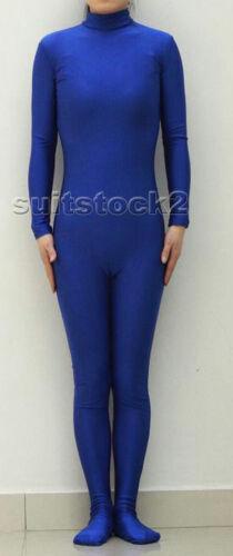 New Lycra Spandex Zentai costume Bodysuit Catsuit Unitard No Hood /& Hands