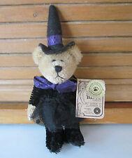 Boyds  Halloween Mini-Mohair Bear -----Eastwick Cattington