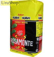 Y33 YERBA MATE ROSAMONTE SUAVE/SMOOTH 1KG TEA ARGENTINA