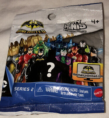 Batman Unlimited Series 2 Mighty Minis Action Figure Blind Packs 3