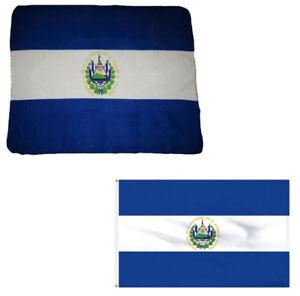 Hüte & Mützen Herren-accessoires Aus Dem Ausland Importiert Großverkauf Kombination Menge El Salvador Country 127cmx152cm Vlies & 0.9mx5' äRger LöSchen Und Durst LöSchen