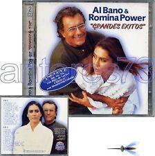 """AL BANO & ROMINA POWER """"GRANDES EXITOS"""" RARO DOPPIO CD 1997 SPAGNA"""
