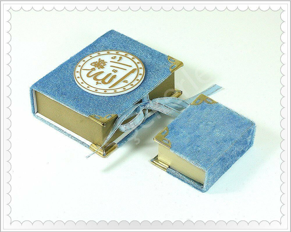 30 pcs Porte-Hanging-Mini-Quran - musulmans-islamique-DECOR-CORAN - Je Kerim-Baby Shower