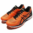 Asics Gel-Kayano 23 Orange Black Mens Running Shoes Sneakers Trainers T646N-0990