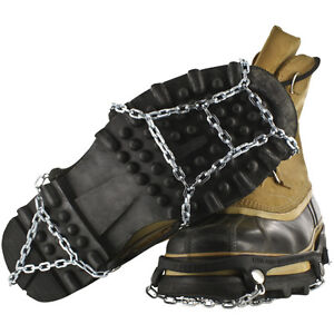 Yaktrax-Ice-Trekkers-Traction-Grip-Boot-Chains-for-Winter-Ice-Snow-S-XL-FreeShip