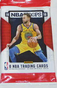2018-19-Panini-NBA-Basketball-Hoops-8-Card-Retail-Pack-Brand-New-Doncic-Young-RC
