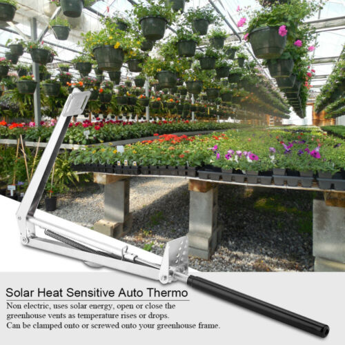 Automatic greenhouse window roof vent opener Solar Auto Heat Sensitive Temp Kit