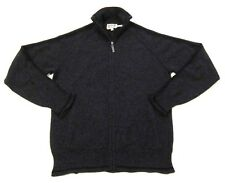 RARE Mens Juicy Couture Cashmere Track Jacket Sweater in Gray sz S