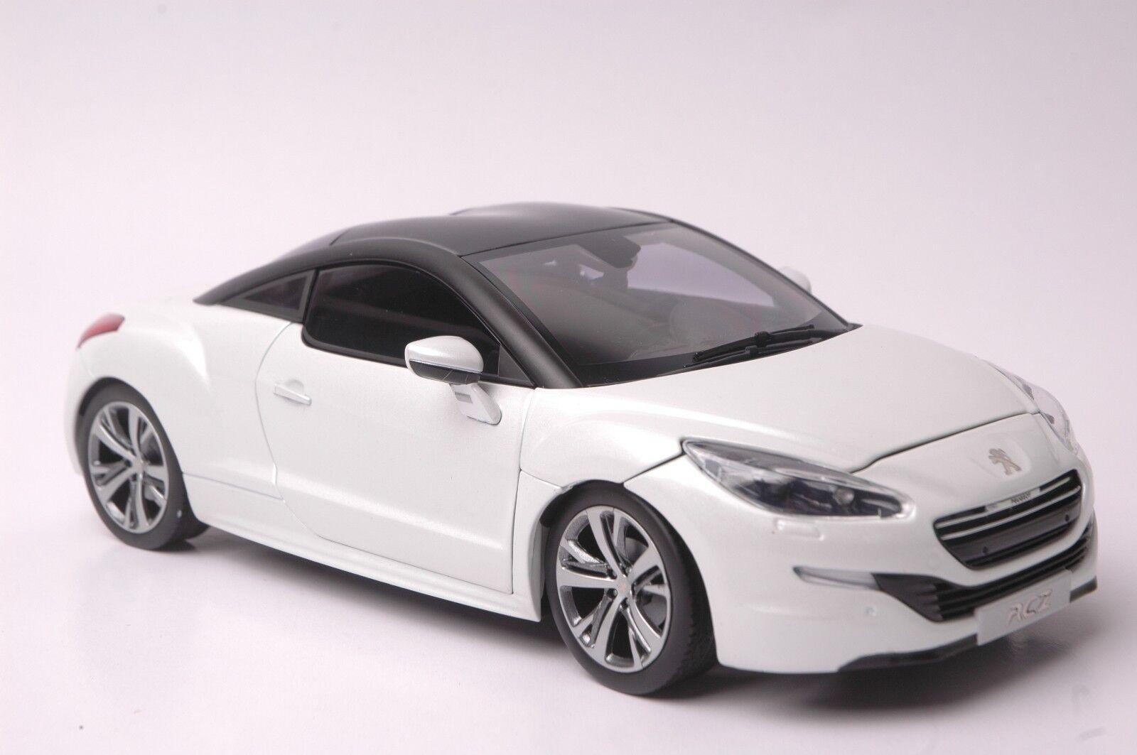 envío gratis Peugeot RCZ 2012 coche modelo en en en escala 1 18 blancoo  80% de descuento
