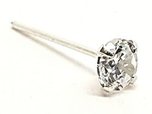 3mm-Clear-Round-Crystal-Nose-Stud-22g-0-6mm-Silver-L-Bendable-CZ-Claw-Set