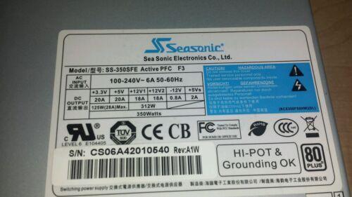 SeaSonic SS-350SFE 350W SFX12V V3.1 80  PFC F3 Power Supply