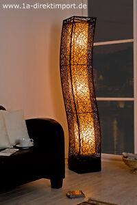 exklusive stehlampe standleuchte rattanlampe leuchten. Black Bedroom Furniture Sets. Home Design Ideas