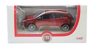 Fiat-Norev-Bravo-en-rojo-5-puertas-1-43-Diecast-Modelo-Coche