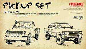 Meng-Model-1-35-VS-007-Pickup-Set-BRAND-New-Truck-Vehicle-Hot