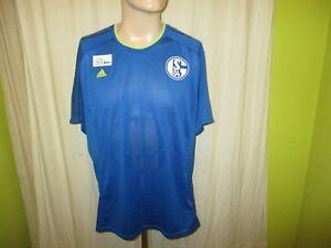 FC-Schalke-04-Original-Adidas-Spieler-Freizeit-Training-Trikot-2013-14-Gr-XL-TOP