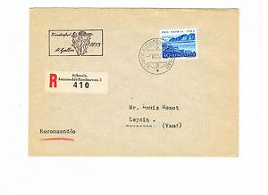 Schweiz Herrlicher R Brief Einschreiben Mit Minr 584 Ef Ebay