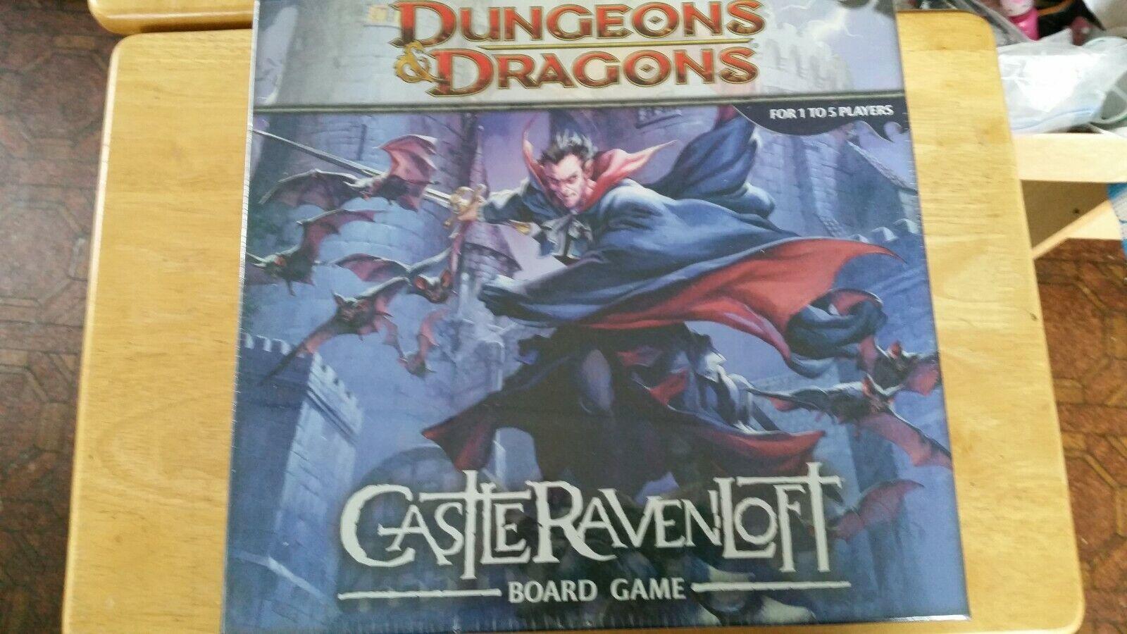 Castillo Ravenloft Calabozos y Dragones