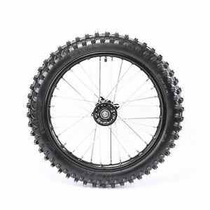 Details About Motorcycle Front Wheel Tire Assembly 70 100 17 Knobby Pit Bike Off Road 17 Inch