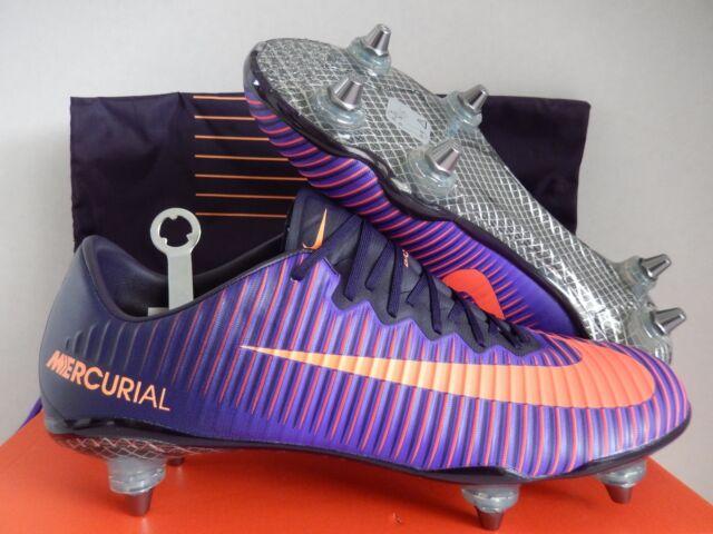 check out 8860b e746e Nike Mercurial Vapor XI SG Pro Promo Purple Dynasty-citrus Sz 11 845051-586