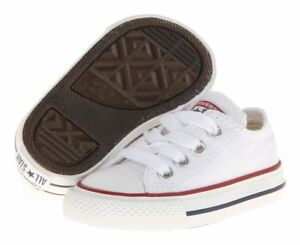 Converse-Low-Tops-Optical-White-OX-Infant-Toddler-Baby-Boys-or-Girls-Kids-Shoes