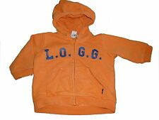 H & M tolle Sweat Jacke Gr. 68 orange !!