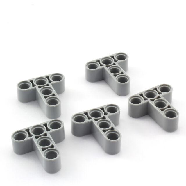 20x Lego Technic NEU 1 x 2 Achs Pin Verbinder 6536 hellgrau Technik 4211775 NEU