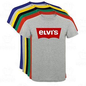 Camiseta-Elvis-Presley-Rey-del-Rock-hombre-tallas-y-colores
