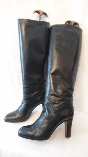 "Boots Vintage 1982 "" Black "" MIMA Italy T.38,5"