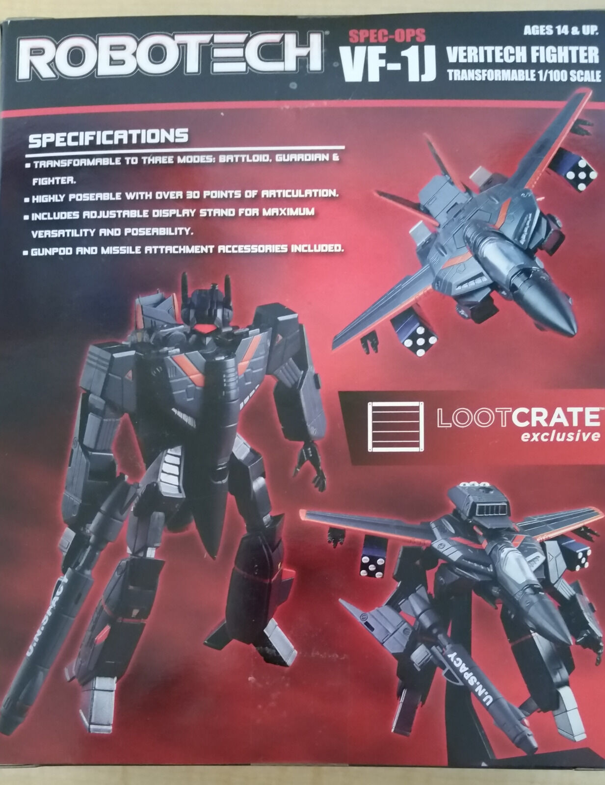 Loot Crate DX 2017 Build Build Build Complete Game of Thrones, Fantastic Beasts, Robotech 1d9410