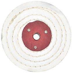"""8/"""" Buffing Wheel Mop Pro-Max Jewellery Polishing White Stitch 3/"""""""